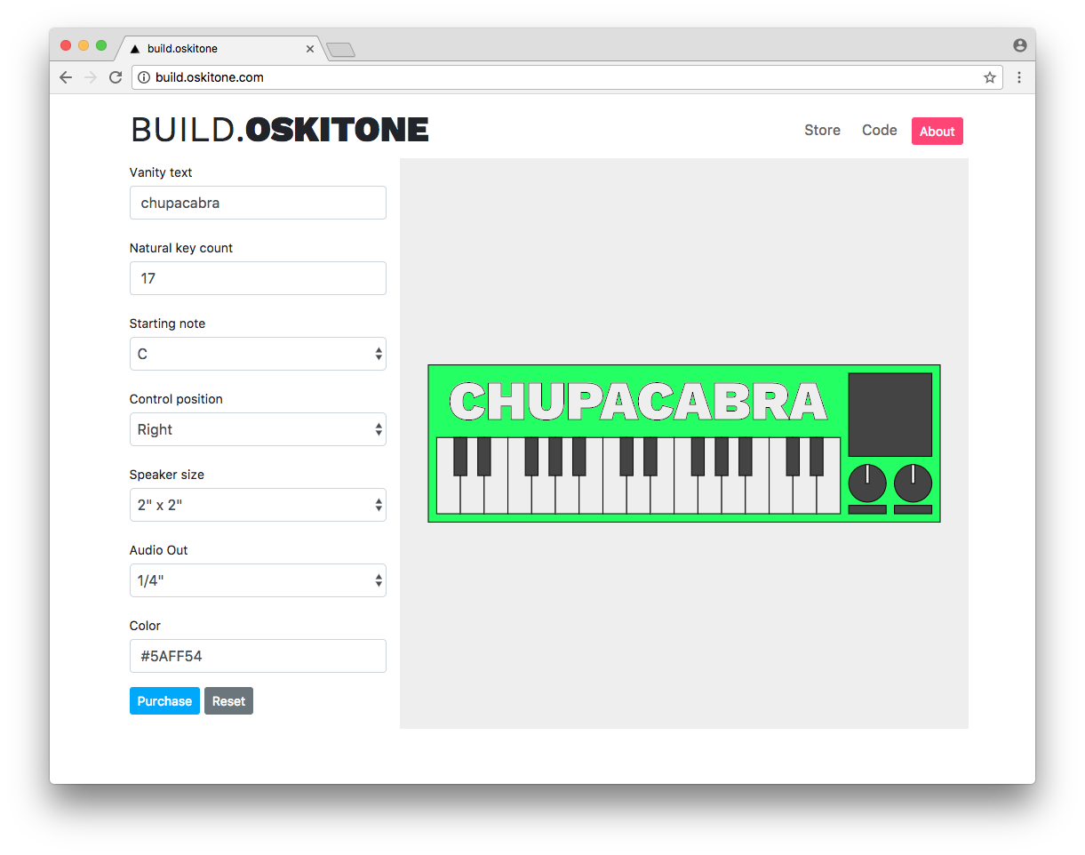 build.oskitone