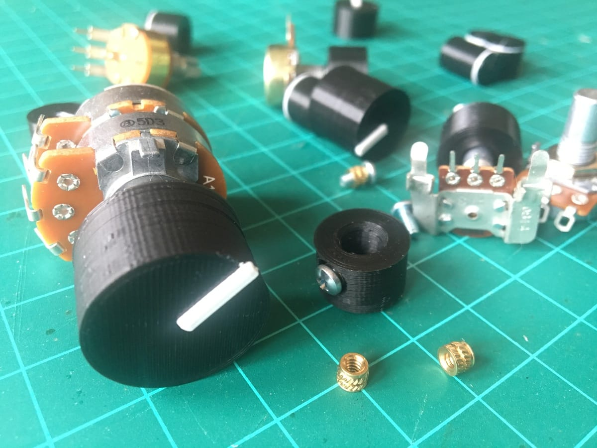 Designing Potentiometer Knobs